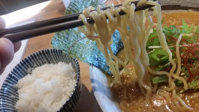 道産小麦『ゆめちから』使用の麺