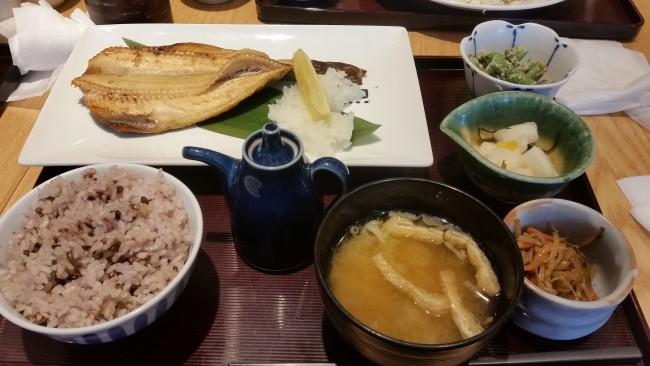 縞ホッケ定食@寅福-摂理☆日本縦断