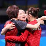 リオオリンピックより 女子卓球団体銅メダル獲得♪