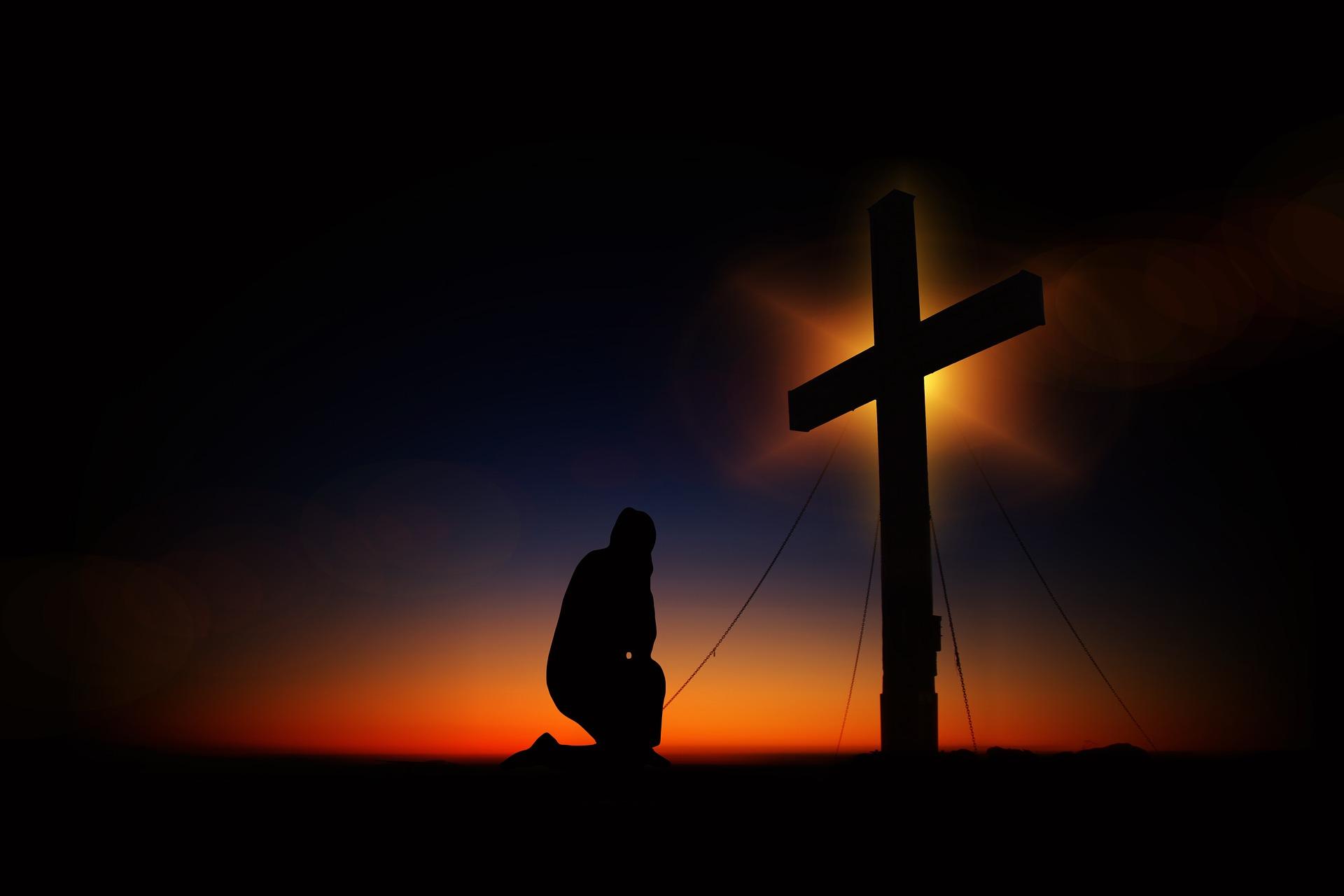 深い祈りで心を新たに。