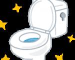 トイレ掃除にこだわるw