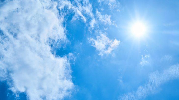 【本日の詩】青い空