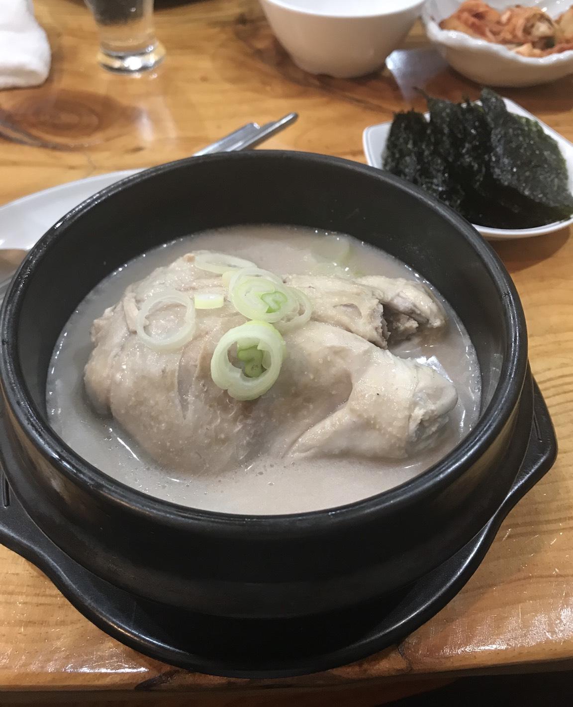 愛と恵みの参鶏湯!