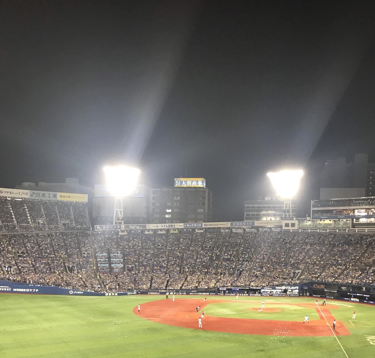 野球観戦に行ってきました