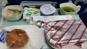 大韓航空の機内食-摂理☆祝福の方程式