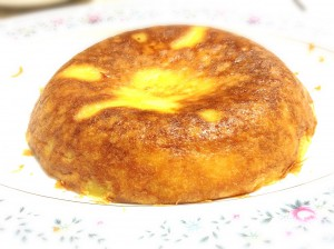 お手製チーズケーキ©摂理の御言葉を世界へ