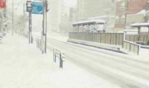 雪のまち長崎
